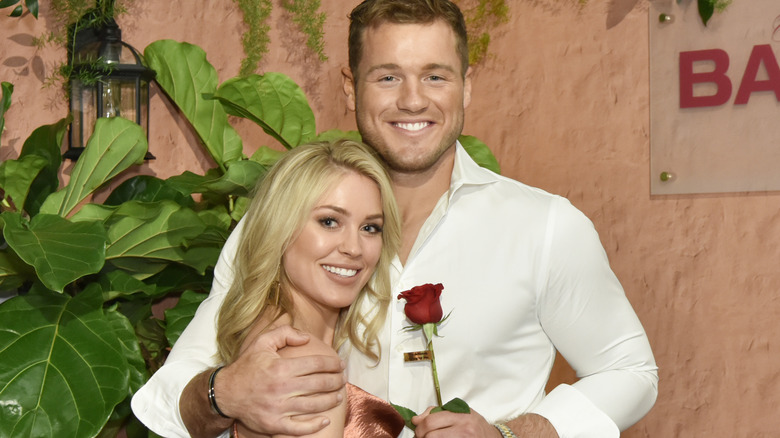 Bachelor couple Colton Underwood and Cassie Randolph