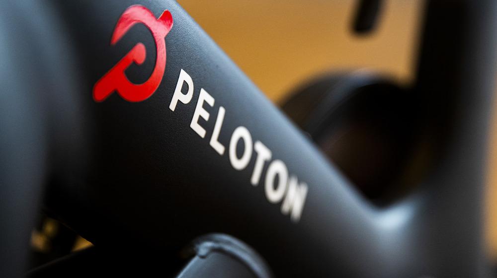 Photo of a Peloton bike