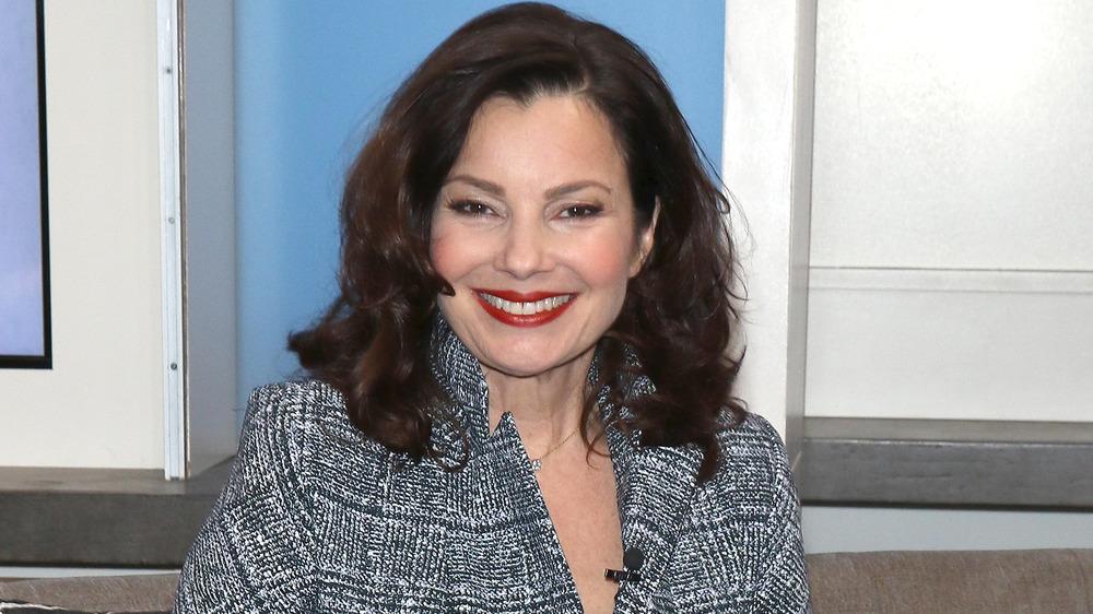 Fran Drescher smiling