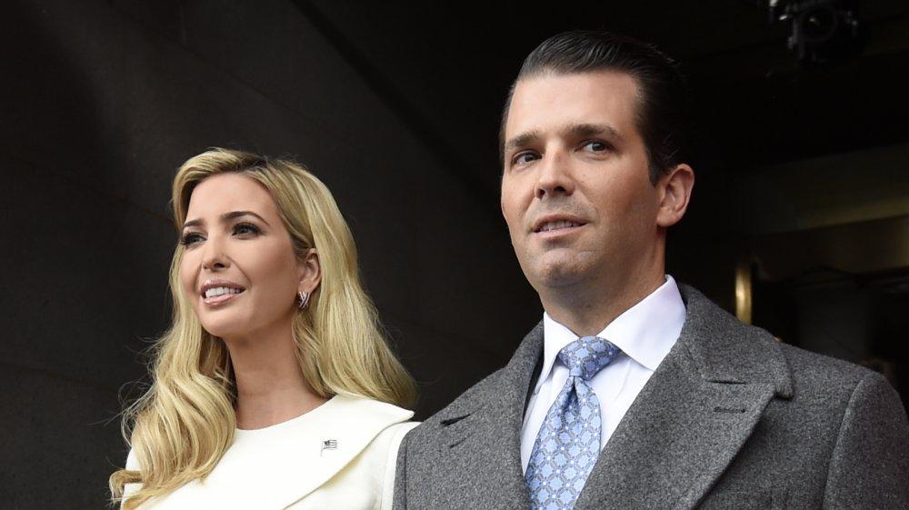 Ivanka Trump and Donald Trump Jr.