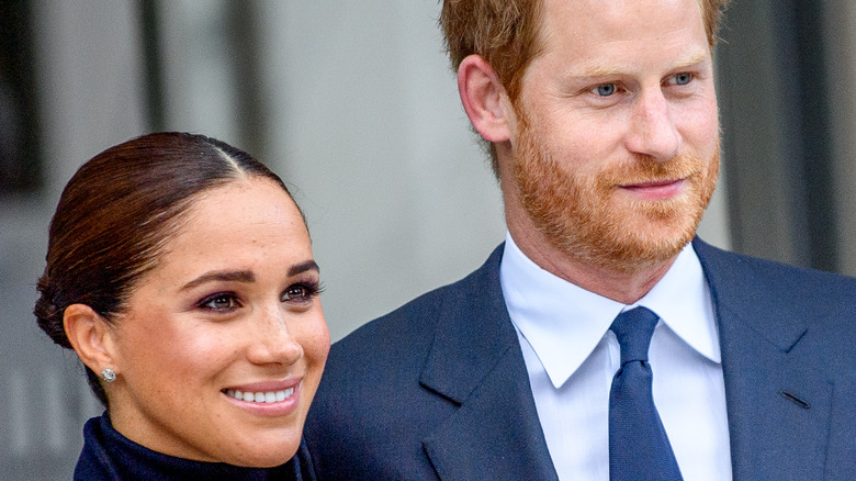 Prince Harry and Meghan Markle in NYC.