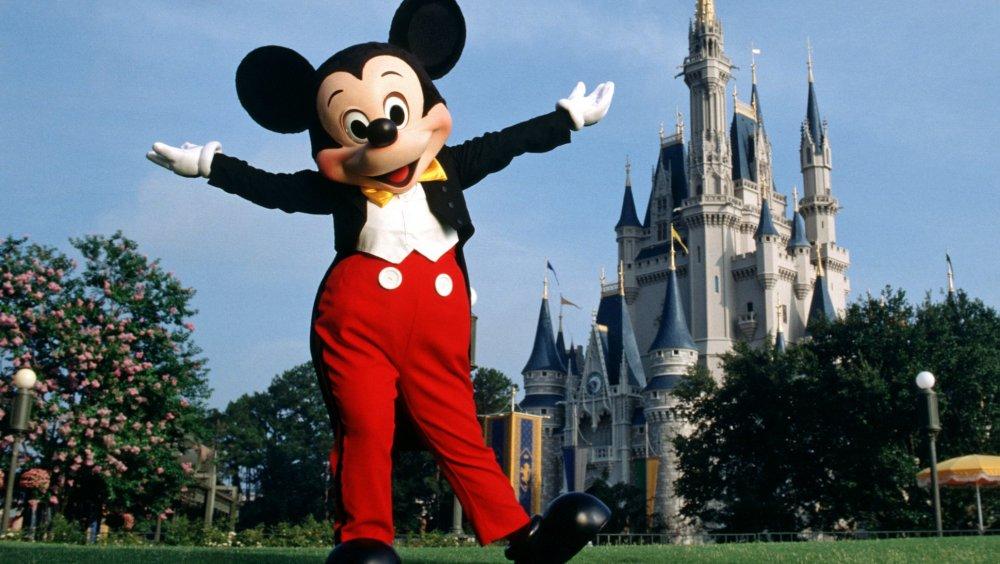 Mickey at Magic Kingdom