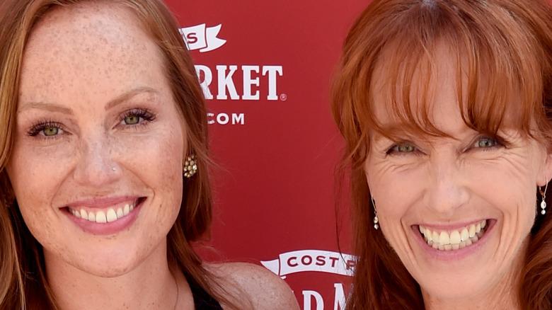 Mina Starsiak Hawk and Karen E. Laine smiling