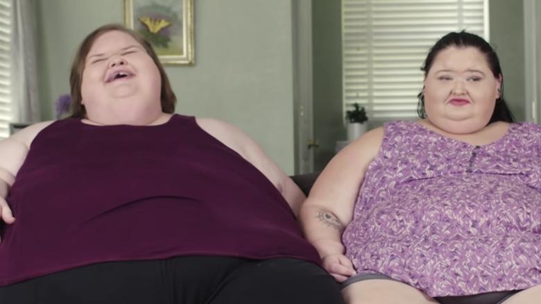 Amy and Tammy Slaton laughing