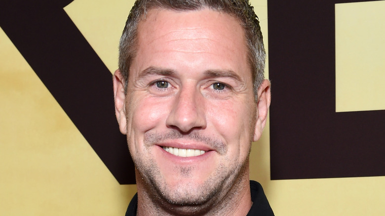 Ant Anstead poses on the red carpet