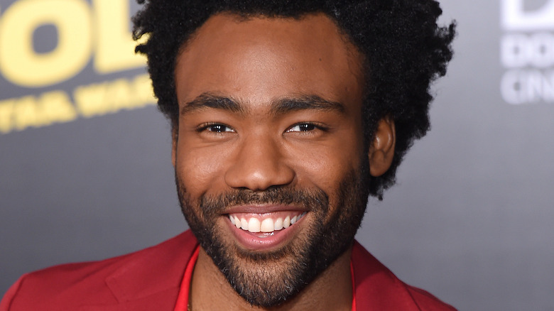 Donald Glover smiling