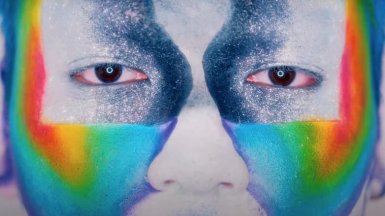 Makeup look in 'Glow Up'
