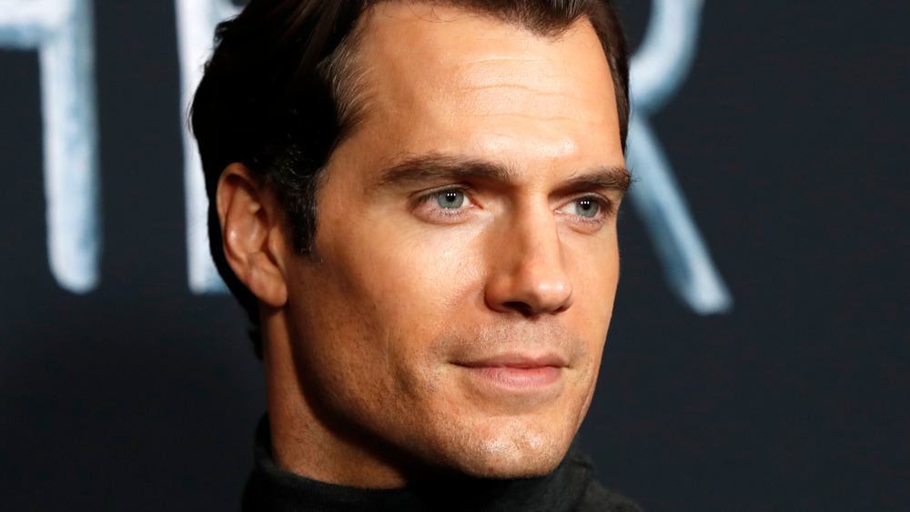 Henry Cavill on the red carpet