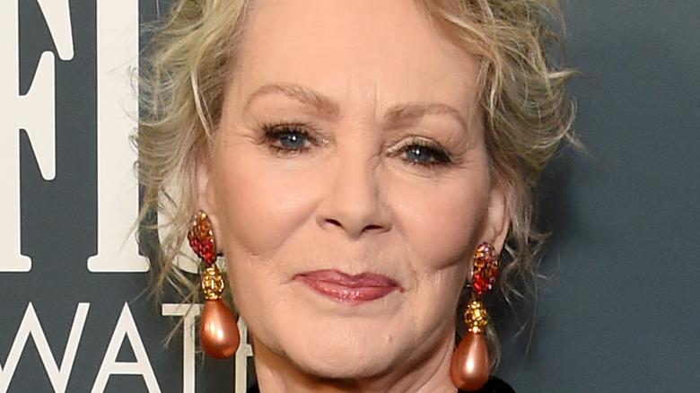 Jean Smart in large earrings