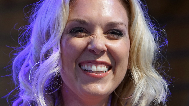 Kortney Wilson smiles