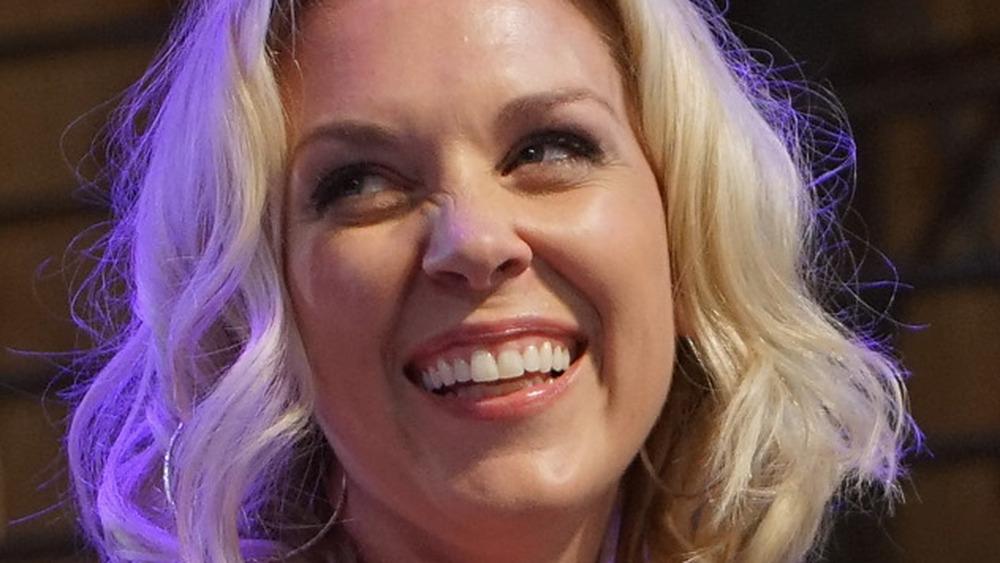 Kortney Wilson smiling