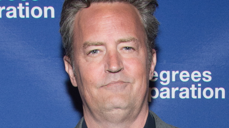 Matthew Perry at event