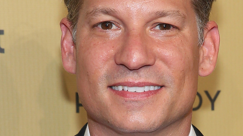 close up of Richard Engel