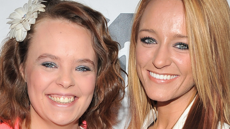 Maci Bookout and Catelynn smiling