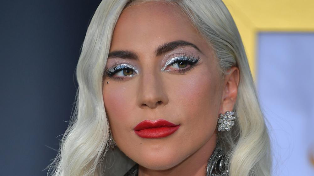 close up of Lady Gaga