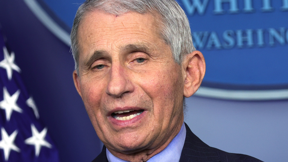 Dr. Anthony Fauci press briefing