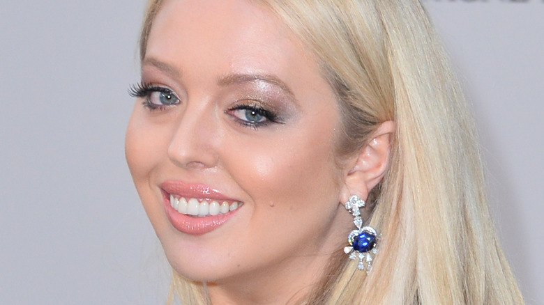 Tiffany Trump smiling in evening gown