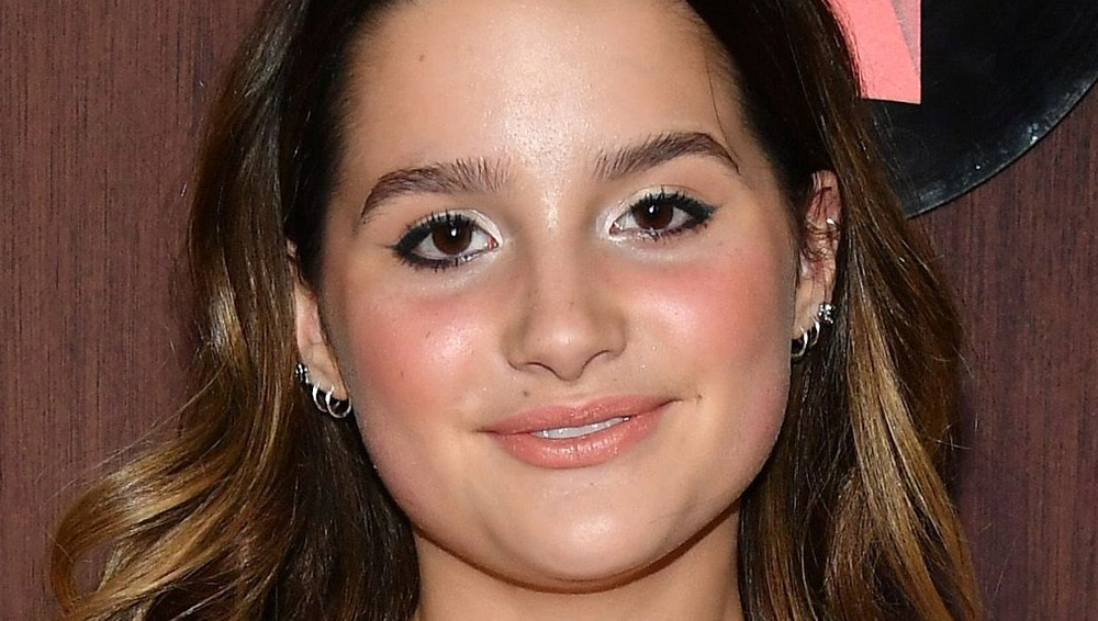 Annie LeBlanc at a jewelry event