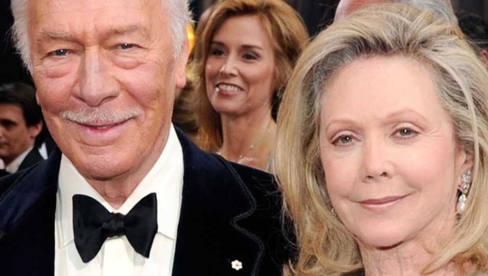 Christopher Plummer and wife smiling