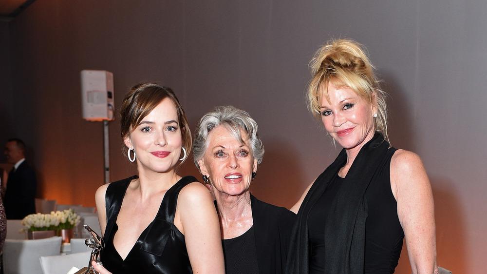 Dakota Johnson, Tippi Hedren, and Melanie Griffith