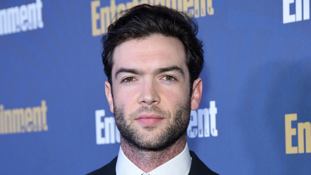 Ethan Peck on a red carpet