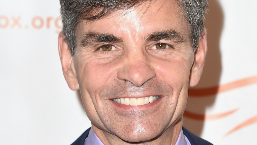 George Stephanopoulos on red carpet