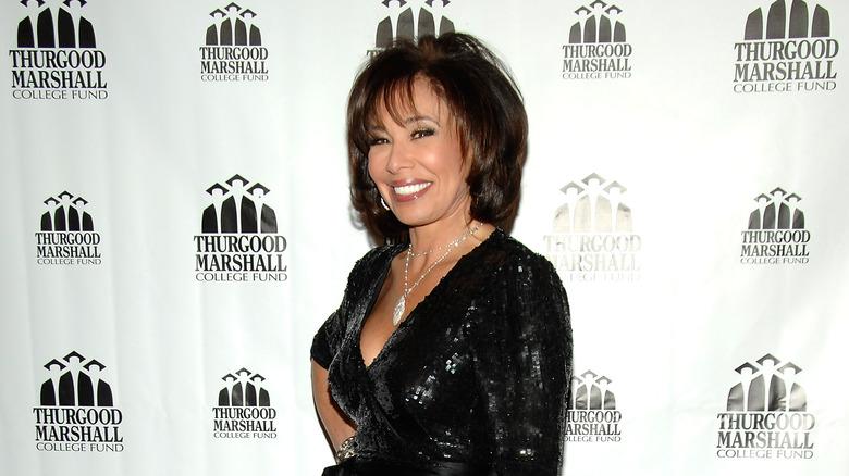Judge Jeanine Pirro smiling