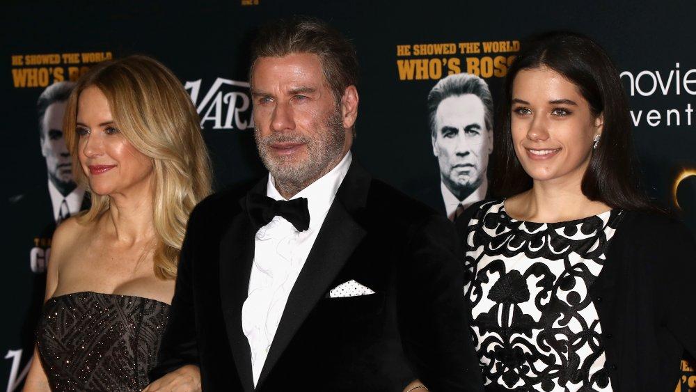 Ella Bleu Travolta and parents