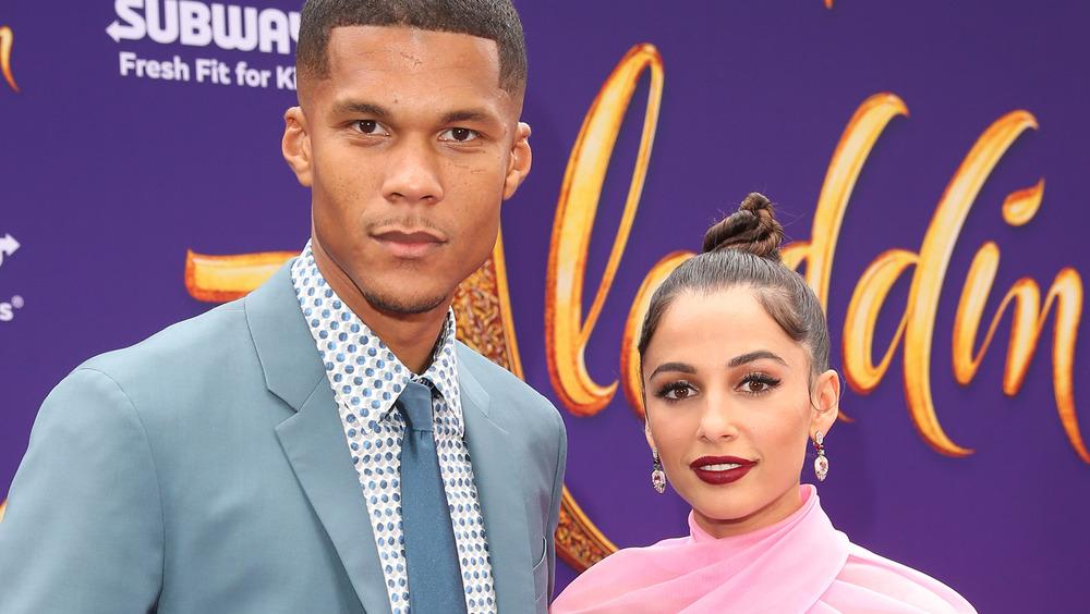 Naomi Scott and husband Jordan