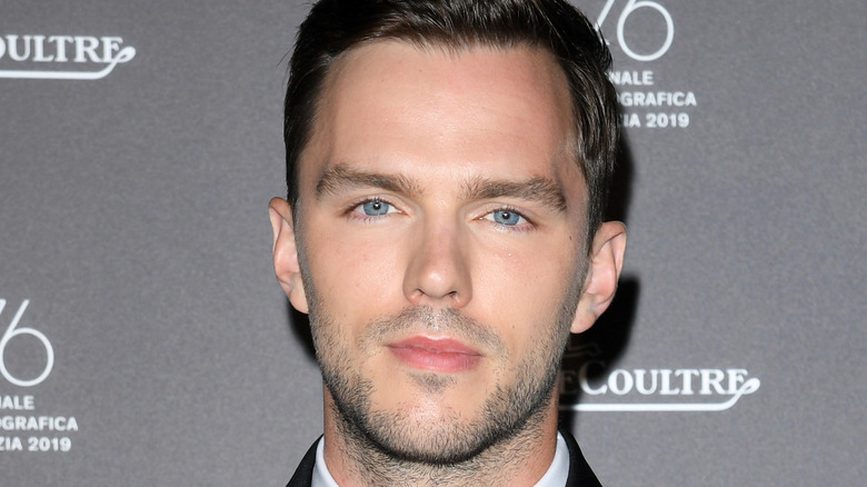 Nicholas Hoult on the red carpet