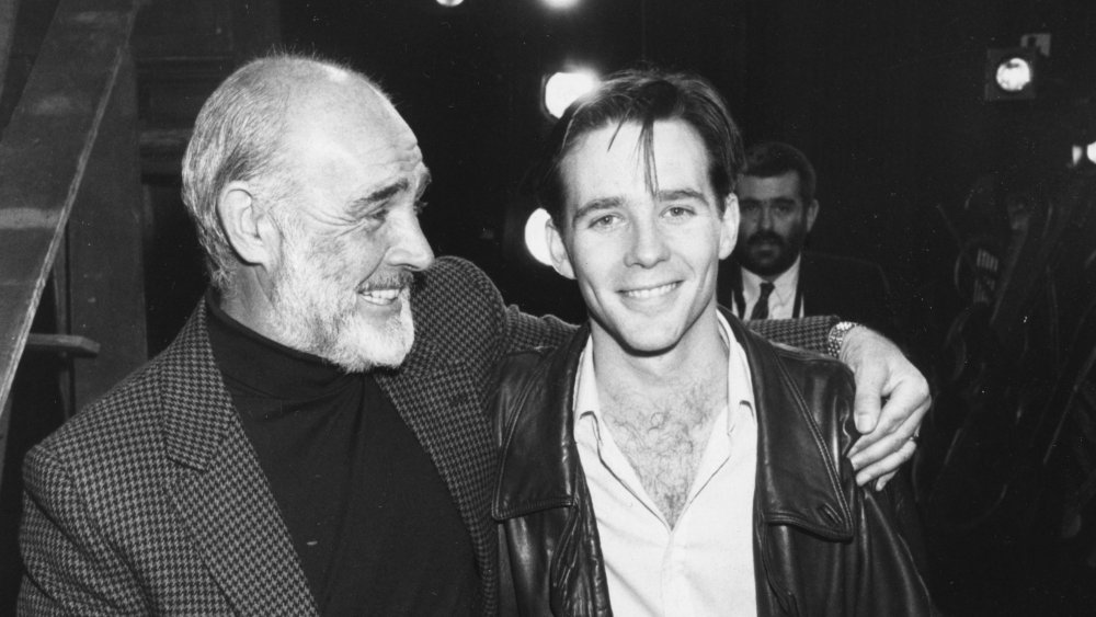Sean Connery and Jason Connery