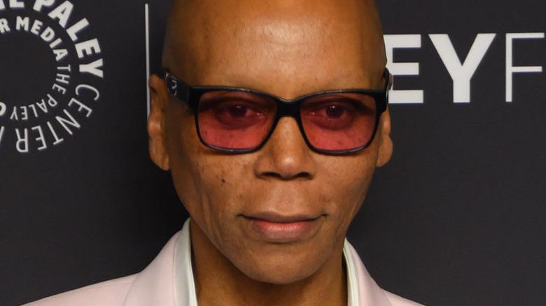 RuPaul wearing sunglasses