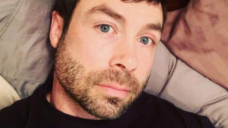 A selfie of Geoffrey Paschel