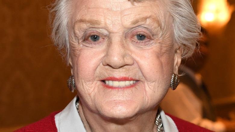 Dame Angela Lansbury smiling