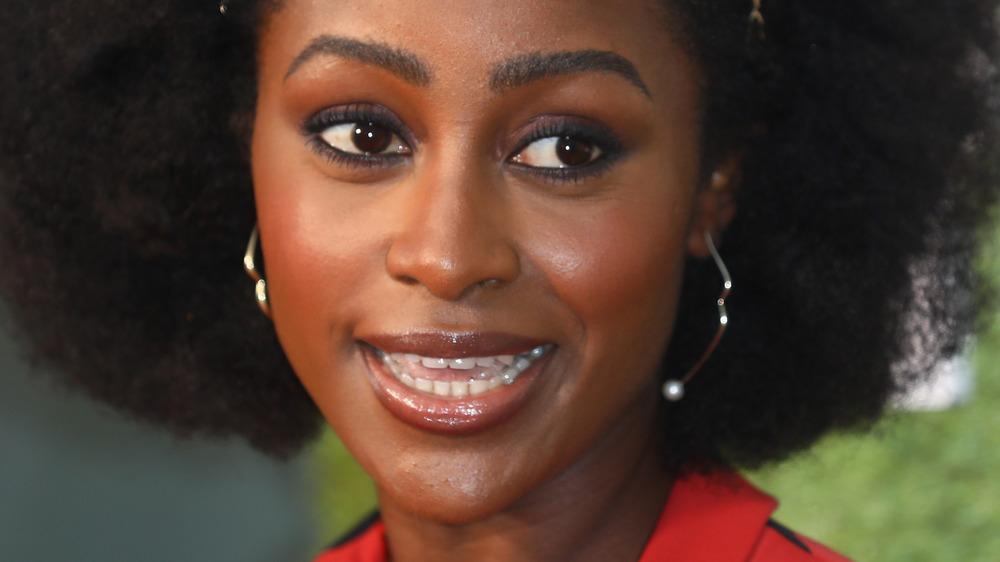 Simona Brown smiling