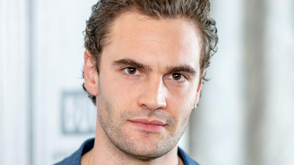 Tom Bateman intense eyes