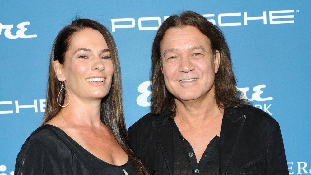 Eddie Van Halen's wife, Janie Liszewski