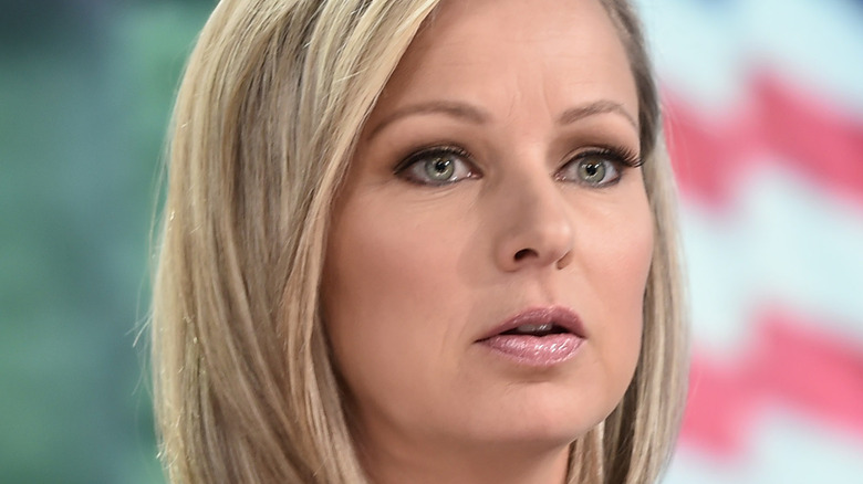 Sandra Smith on Fox News close-up