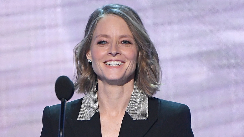 Jodie Foster at awards ceremony