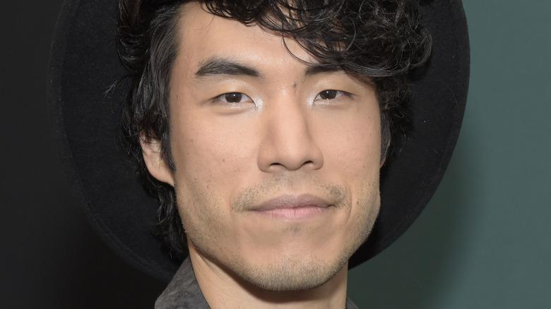 Eugene Lee Yang on the red carpet
