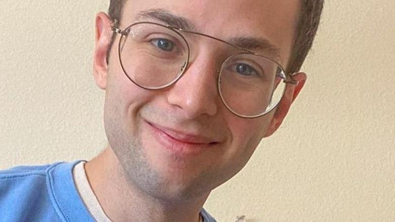 Try Guys Zach Kornfeld smiling