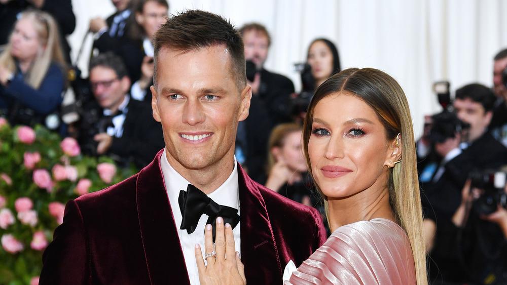Tom Brady with wife Gisele Bündchen