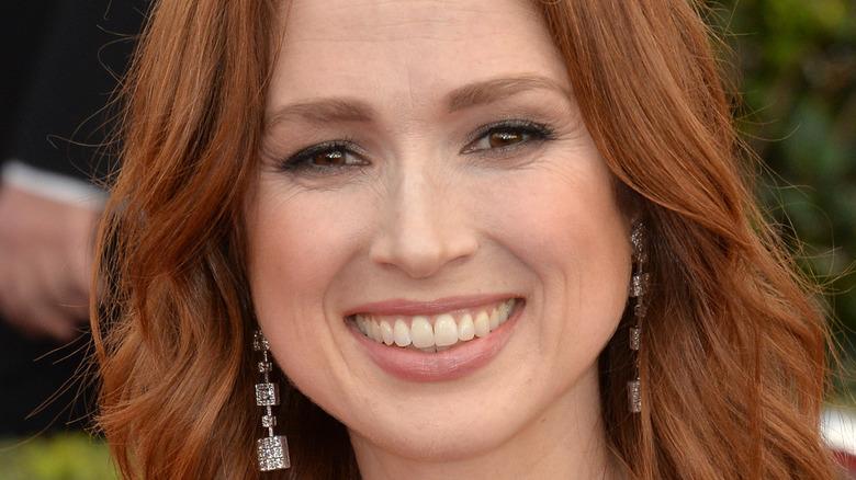 Ellie Kemper smiling