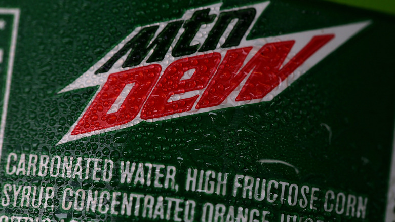 High fructose corn syrup contained in Mountain Dew