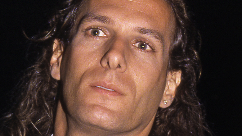 Michael Bolton in the '90s close-up