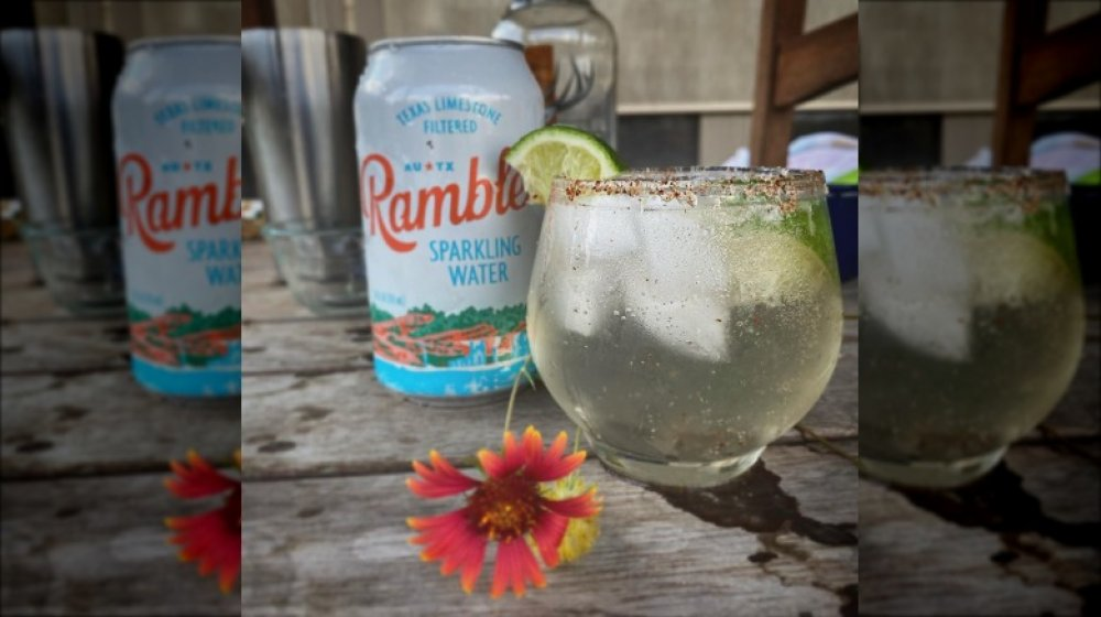 Ranch water cocktail