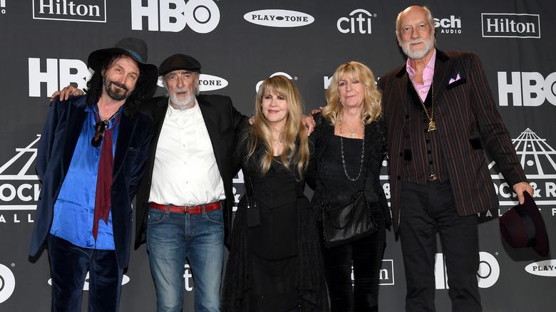 Fleetwood Mac posing