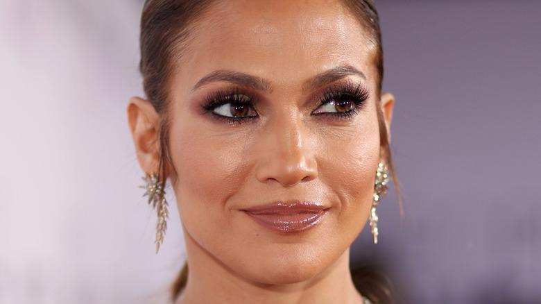 Jennifer Lopez close-up