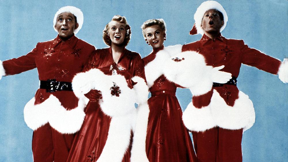 Bing Crosby, Rosemary Clooney, Vera Ellen, and Danny Kaye in White Christmas
