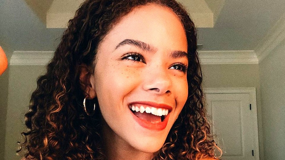 Antonia Gentry smiling in a selfie